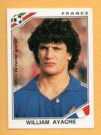 """Figurina """"Mexico '86"""" - La Vache Qui Rit -France - William Ayache - Trading Cards"""