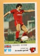 Figurina 1985 - La Vache Qui Rit - Inghilterra - Souness - Ecosse - Trading Cards