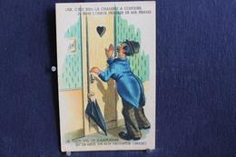 JA 223 - Humour - Oui, C'est Bien La Chambre à Coucher.  Je Sens L'odeur Préférée De Ma Femme - Pas Circulé - Humor