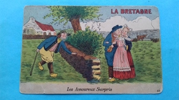 Romania Rumanie Caricatura Bretania Franta - Roumanie