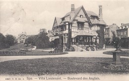 Spa Villa Lieutenant Boulevard Des Anglais - Spa