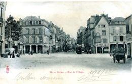 N°9322 -cpa Reims -rue De L'Etape- - Reims