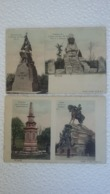 2 CPA - 1913 - 1 Colorisée - Denkmal Des Thüring - Kaiser - Germany