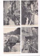 Rare Lot De 12 Jolies CPA ANNECY (Haute-Savoie),  Les Gorges Du Fier. Certaines Animées - Annecy
