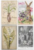 Fantaisies Gros Lot De 1000 CPA Fantaisies Femmes/Hommes/Enfants/Gauffrées/Fètes... - 500 Postkaarten Min.