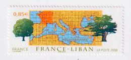 "TIMBRE -  2008  - N° 4323    -  France - Liban    -       "" Chêne De France ""      Neuf Sans Charnière - Ongebruikt"