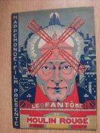 """Magazine Promotionnel """"le Fantome Du Moulin Rouge"""" De René Clair 1924 (Mapppemonde Film) - Magazines"""