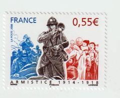"""TIMBRE -  2008  - N° 4322 -    90 éme Ann. De La Signature De L' Armistice    -      """" Soldat""""      Neuf Sans Charnière - Ongebruikt"""