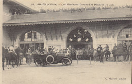 Adana  : Cilicie :  Généraux  Gourand   Et Duffieux  ///   Mai . 20 ///  Ref.  11.484 - Turkey