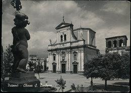 PATERNO' (CATANIA) - CHIESA DI S BARBARA 1953 - Catania