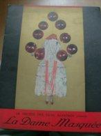 """Magazine Promotionnel """"la Dame Masquée"""" De V. Tourjansky 1924 (Films Albatros) - Magazines"""