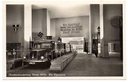 Rundfunkausstellung Berlin 1936 Ehrenhalle Foto AK Sonderstempel - Storia Postale
