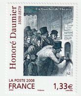 """TIMBRE -  2008  -   N° 4305 -   Série Artistique , Honoré Daumier  -   """"guichet De Théâtre""""       Neuf Sans Charnière - Ongebruikt"""