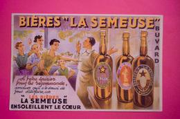 Buvard Bière LA SEMEUSE - Liquor & Beer