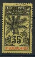 Haut Sénégal Et Niger (1906) N 10 (o) - Oblitérés