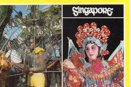 Singapour Animée Kavadi Carrier Chinese Opéra Show - Singapour