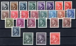 1942. Adolf Hitler. MH (*) & Used (o) Selection - Bohemia Y Moravia
