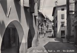 """AK - Italien - S. DANIELE (Friaul) - Strassenpartie In Der """"Viale Garibaldi"""" Mit Post 1952 - Italy"""