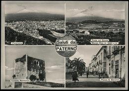 PATERNO' (CATANIA) - SALUTI - Catania
