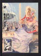 """"""" LA GANTERIE """" Sur Carte Maximum De 1956. N° YT 1020 Parf état. CM - Maximumkaarten"""