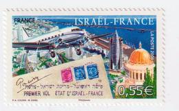 "TIMBRE -  2008  -  N° 4299   -  60 éme Ann. Du 1er Vol Israël - France  -   ""pli D' époque ""  Neufs  Sans Charnière - Ongebruikt"
