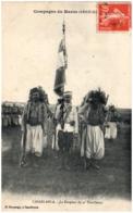 CASABLANCA - Le Drapeau Du 4è Tirailleurs - Casablanca