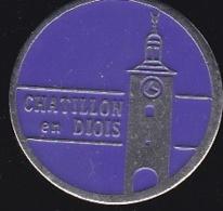 65366-Pin's-Châtillon-en-Diois Est Un Village De La Drôme Connu Pour Son Centre Médiéval - Villes