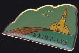 65376-Pin's-Saint-Lyé .Aube En Région Grand Est - Villes