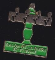 65386-Pin's-Salon De Bière.Saint Etienne. - Bière
