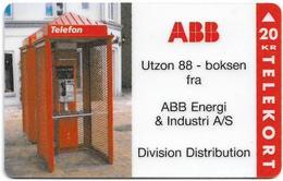 Denmark - Fyns - ABB - TDFP032 - Exp. 12.1996, 1.000ex, 20kr, Used - Denemarken