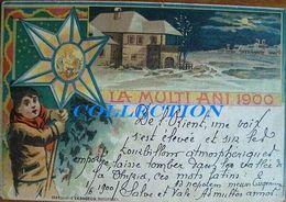 Litho LA MULTI ANI 1900 !!, BUCURESCI, SOCECU, Port Popular, Raritate - Roumanie