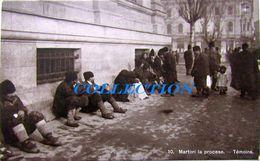 Tipuri BUCURESTI 1920, TRIBUNALUL, Tarani Martori La Proces, Necirculata - Roumanie