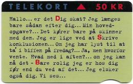 Denmark - Fyns - Dsb Intercity - TDFR003 (Cn. 3131) - 01.1995, 1.500ex, 50kr, Used - Denemarken