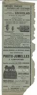 Tachéographe DEGEN Publicités Journal La Nature 1902 - Cámaras Fotográficas