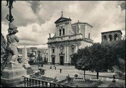 PATERNO' (CATANIA) - PIAZZA S. BARBARA E MONUMENTO AI CADUTI 1956 - Catania
