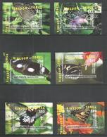 KINGDOM OF TONGA - MNH - Animals - Insects - Butterflies - 2015 - 2016 - Papillons