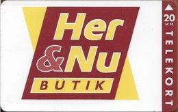 Denmark - Fyns - Her & Nu Shop - TDFP027 - 08.1994, 1.200ex, 20kr, Used - Denemarken