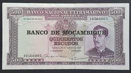 EM0526 - Mozambique 500 Escudos Banknote UNC/a-UNC - Mozambique