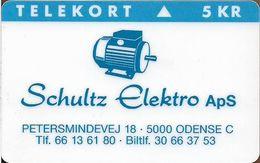 Denmark - Fyns - Schultz Elektro Aps - TDFP033 - Exp. 12.1996, 1.000ex, 5kr, Used - Denemarken