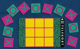Denmark - Fyns - Tic-Tac-Toe Game - TDFS004 (Cn. 3102) - 11.1992, 1.000ex, 50kr, Used - Denemarken