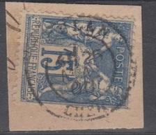 15c SAGE Oblitéré Cachet 18 CULAN (Cher) - Storia Postale (Francobolli Sciolti)
