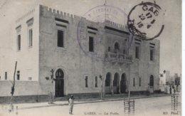 Cpa Tunisie,Gabes, La Poste. - Túnez