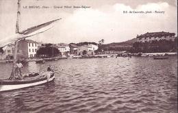Le BRUSC, Grand Hotel BEAUSEJOUR. - Saint-Cyr-sur-Mer