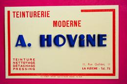Buvard Teinturerie A. HOVINE à La Flèche - Textile & Vestimentaire