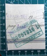 Timbro Italia Banca  Banca Nazionale Del Lavoro Milano - Frammento - Seals Of Generality