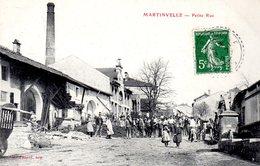 MARTINVELLE  -  Petite Rue  -  Magnifique Animation - Autres Communes