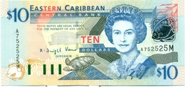 10 DOLLARS 2000 MONTSERRAT - Caraïbes Orientales