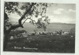 BOLSENA  - PANORAMA E LAGO  - VIAGGIATA    FG - Viterbo