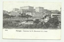 PERUGIA - PANORAMA DAL R.EDUCATORIO DI S.ANNA VIAGGIATA   FP - Perugia