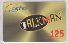 ISRAEL CELLCOM TALKMAN 125 SHEKELS - Israel